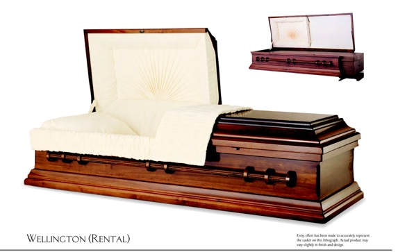 RENTAL - Norwood Oak Cremation Casket #Bmt-Step2-Norwood Oak ...